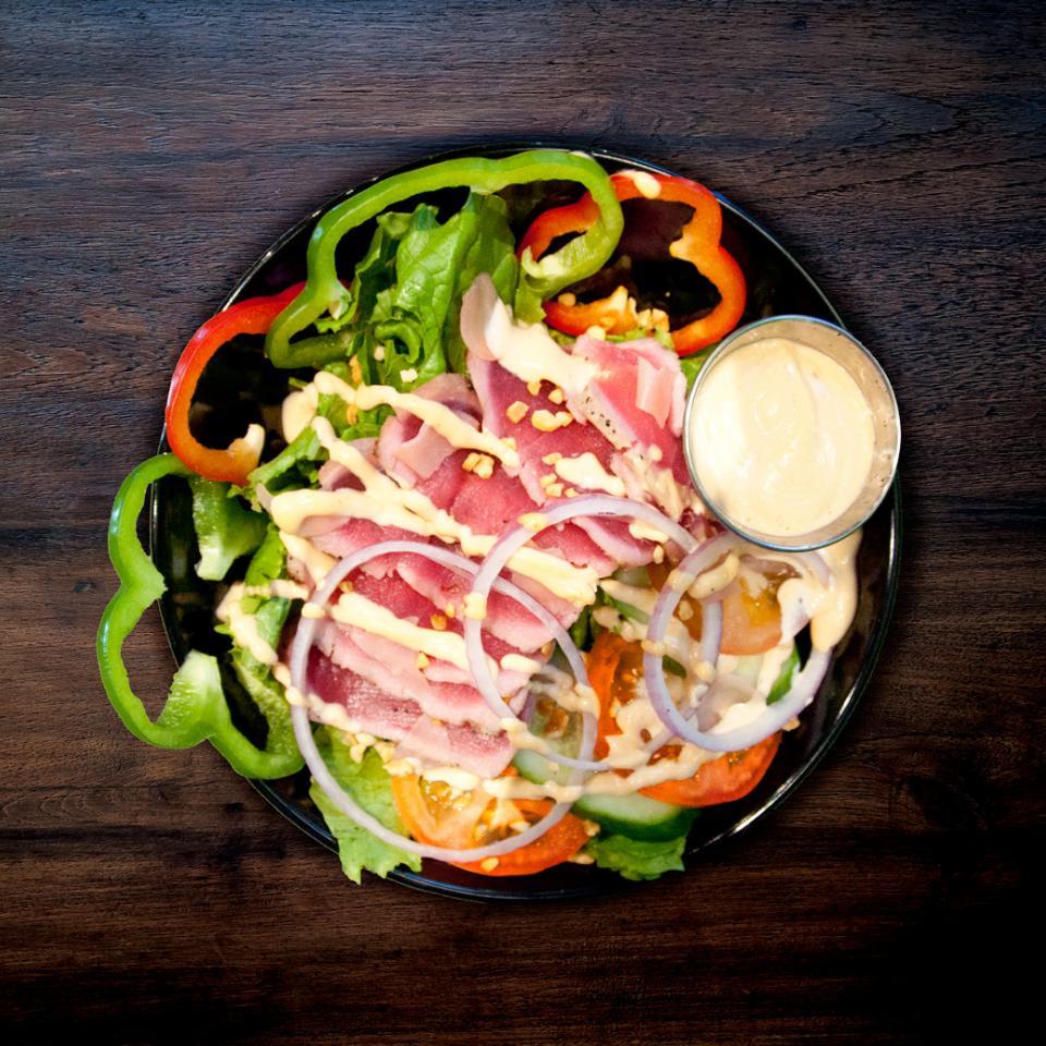 Salade tataki de thon