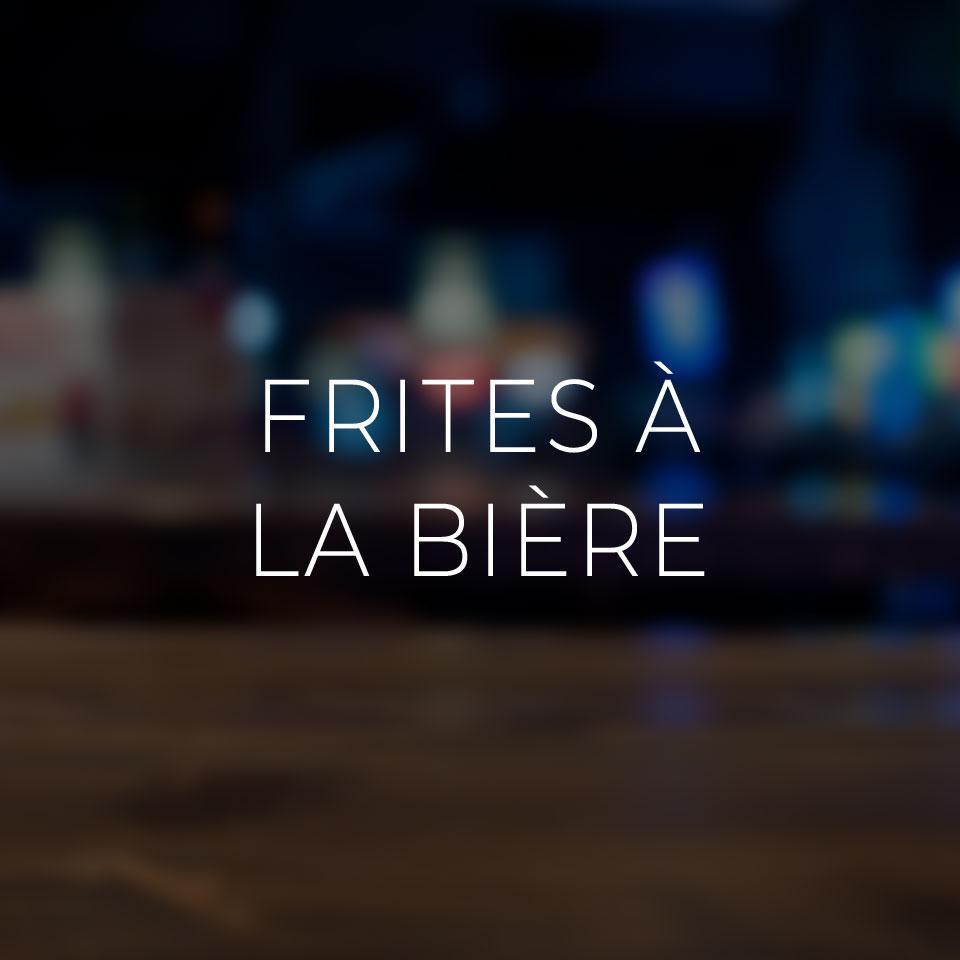 Frites à la bière