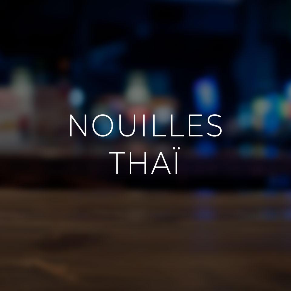 Nouilles Thaï